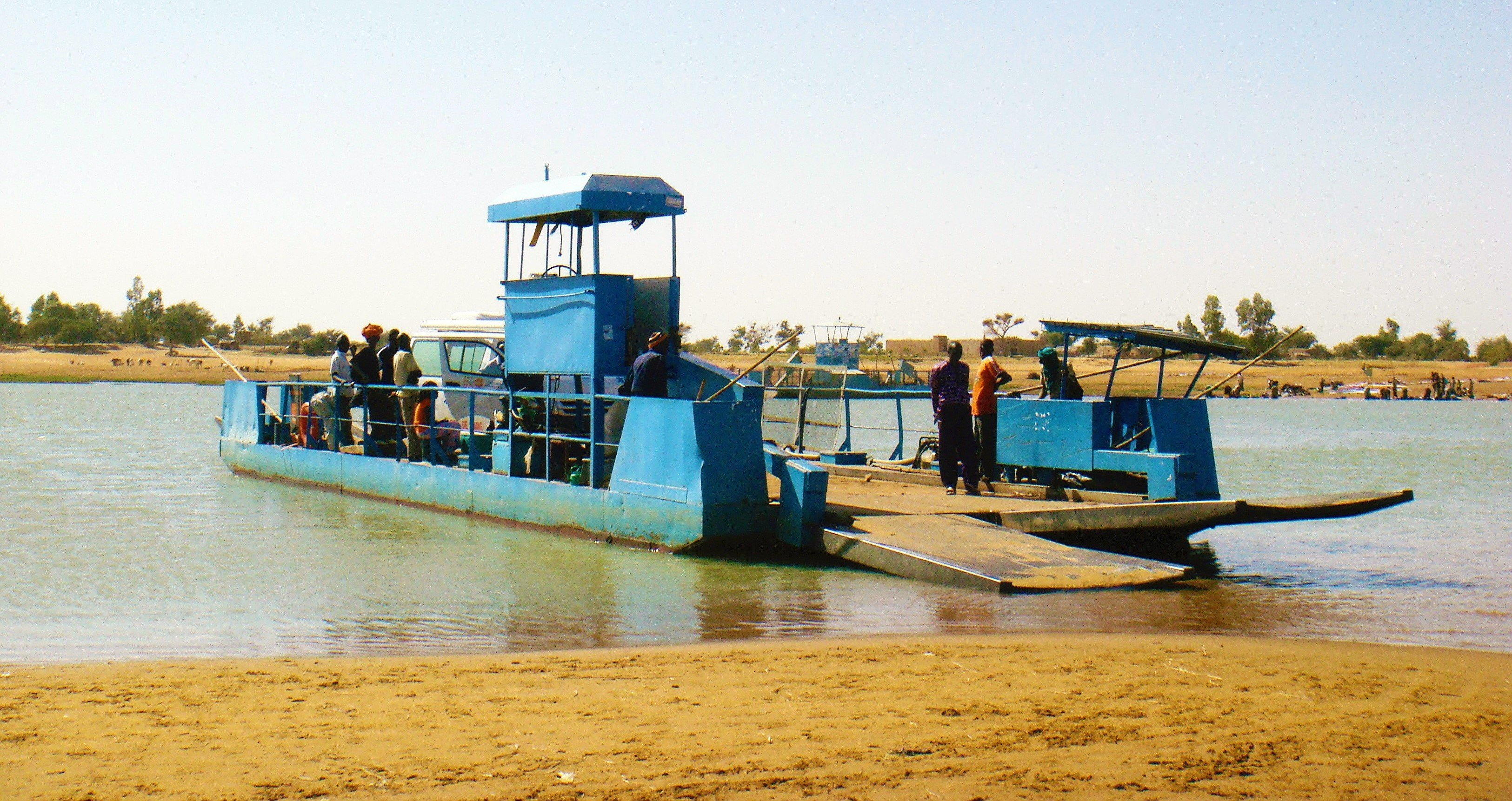 Bani River Ferry Crossing