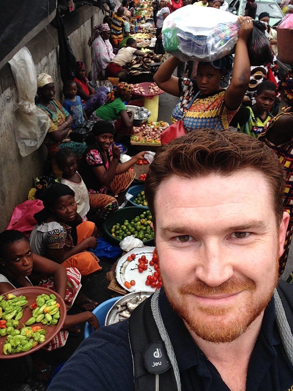 SJ in Adjame 'Black Market'