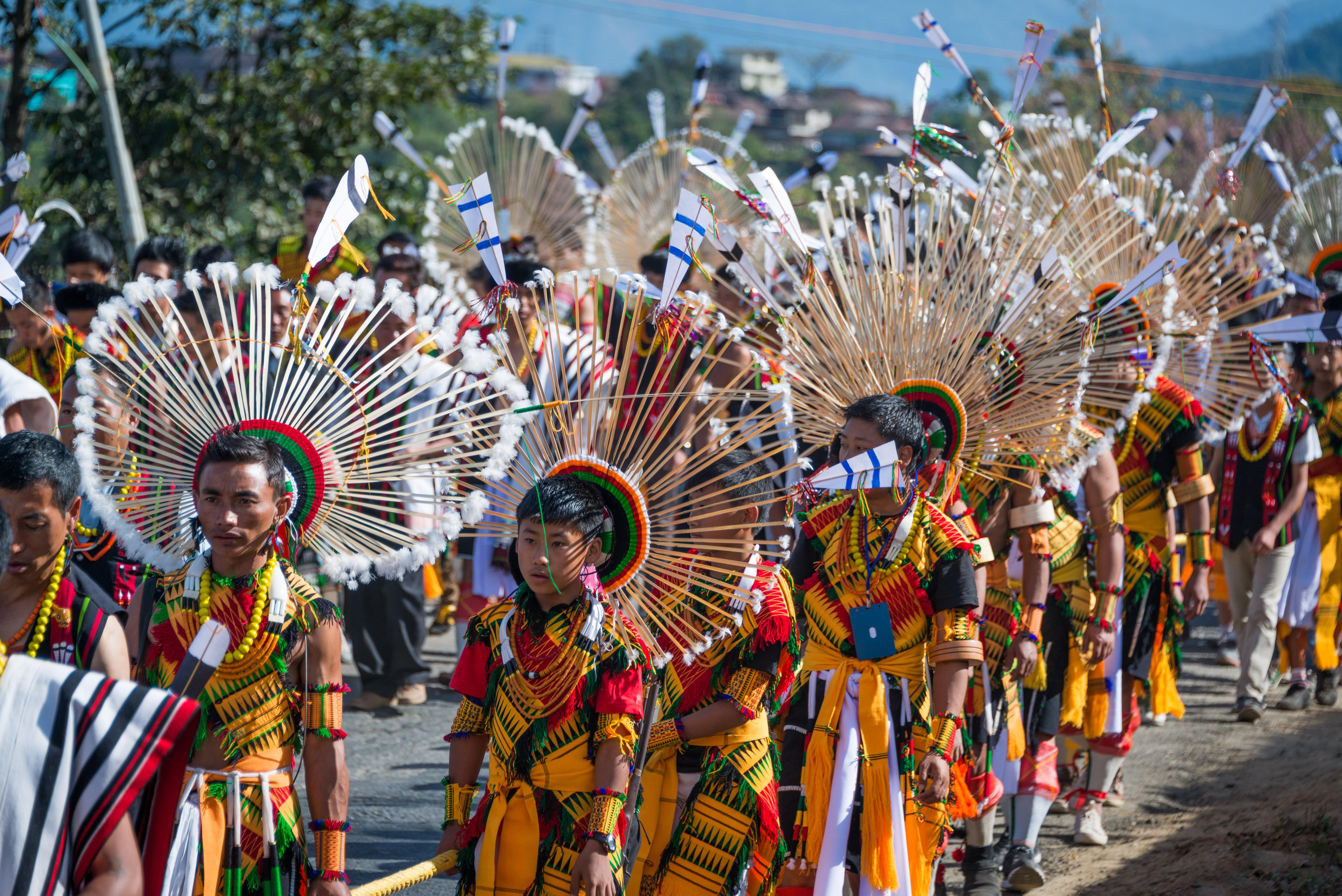 Nagaland Stone Pulling Ceremony