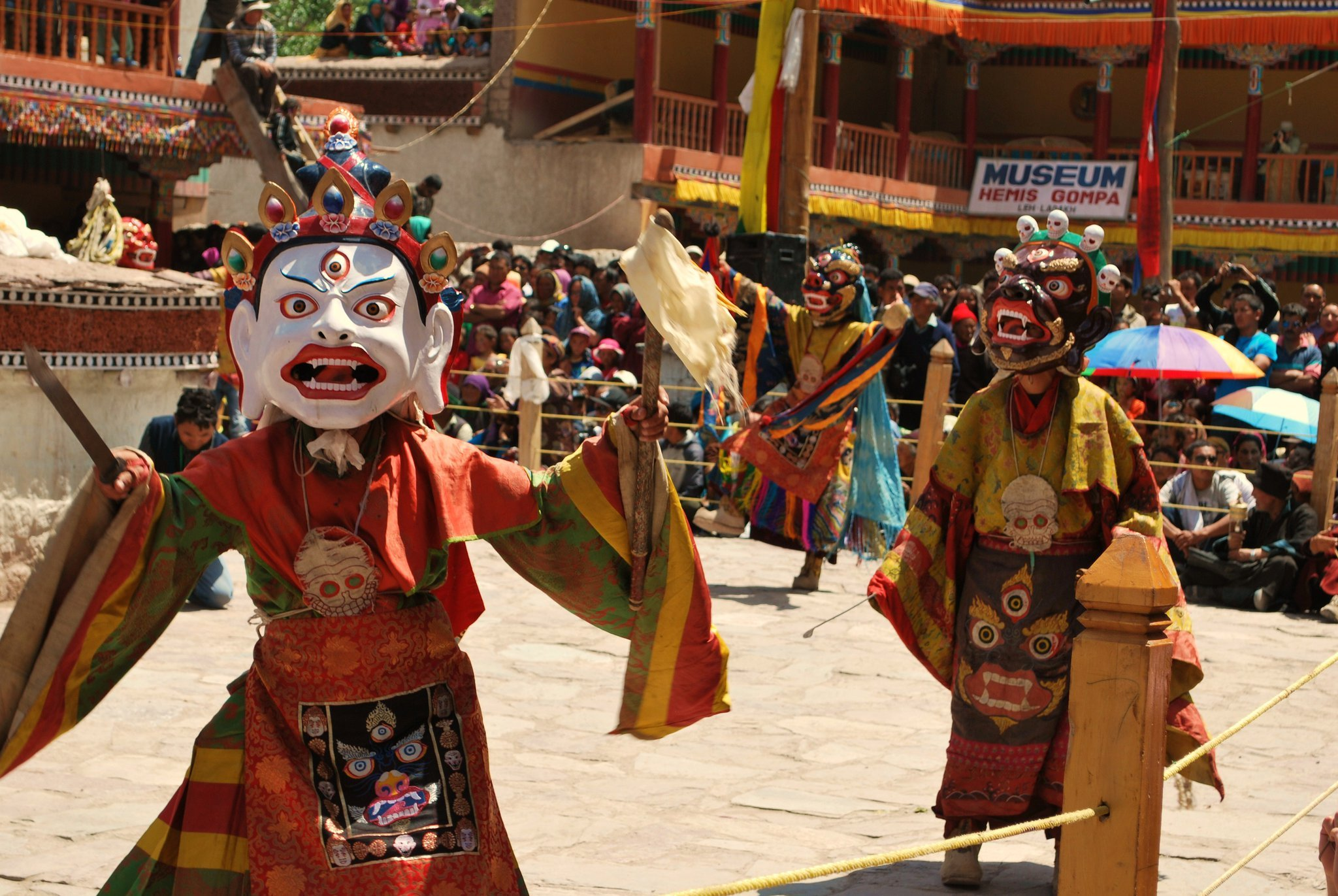 Hemis Mask Dancers