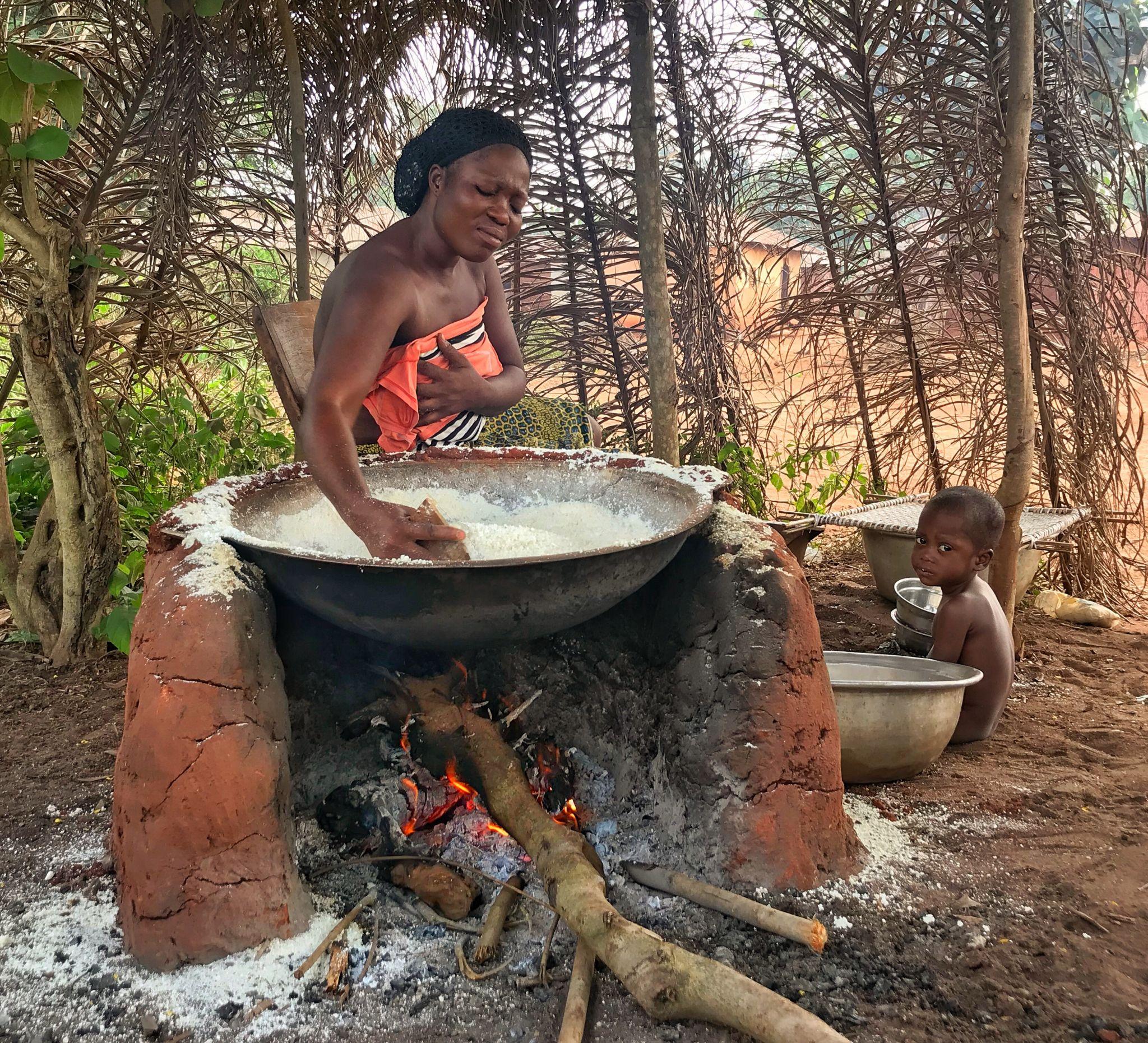 Villages near Allada, Benin