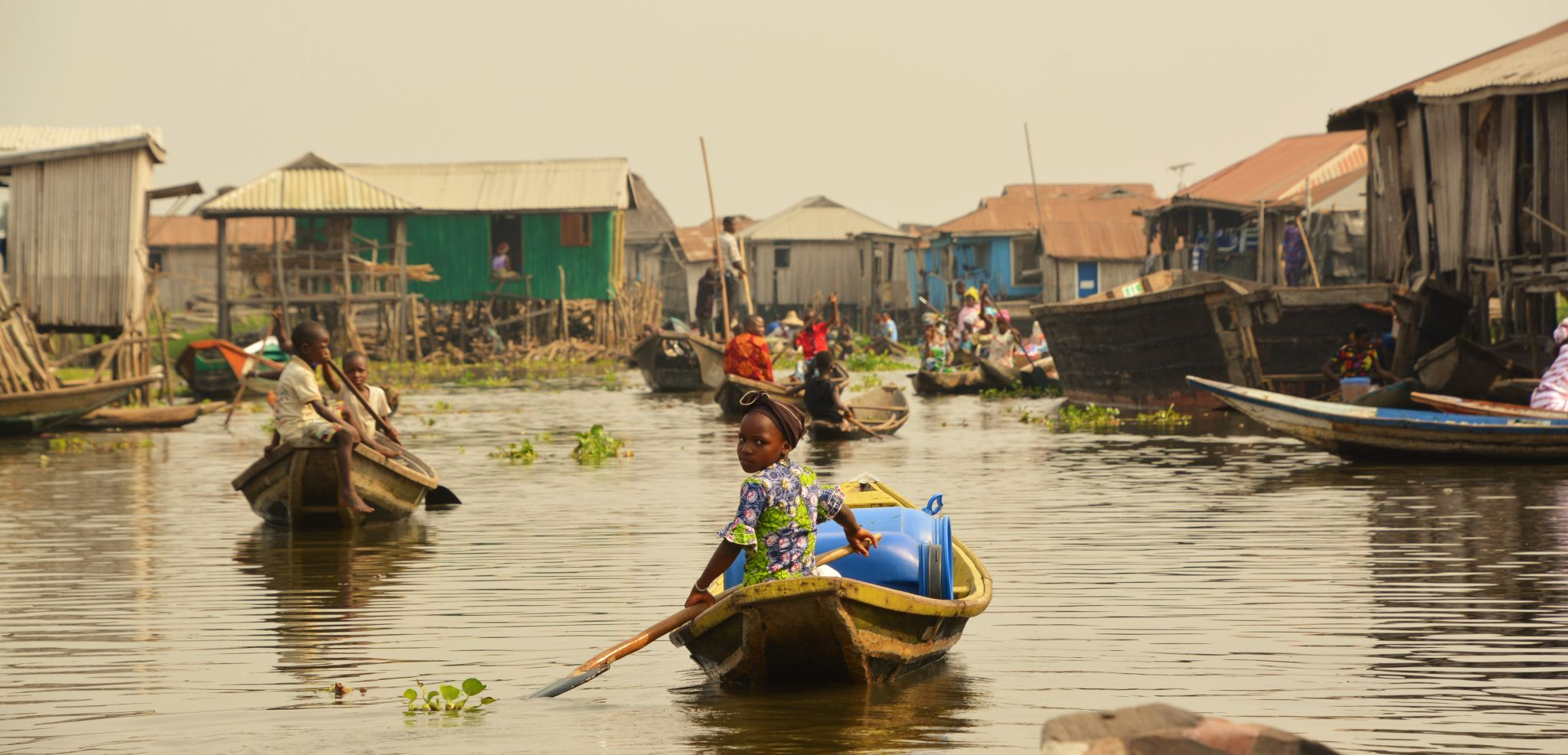 Ganvie Stilt Village, Lake Nokoue, Benin