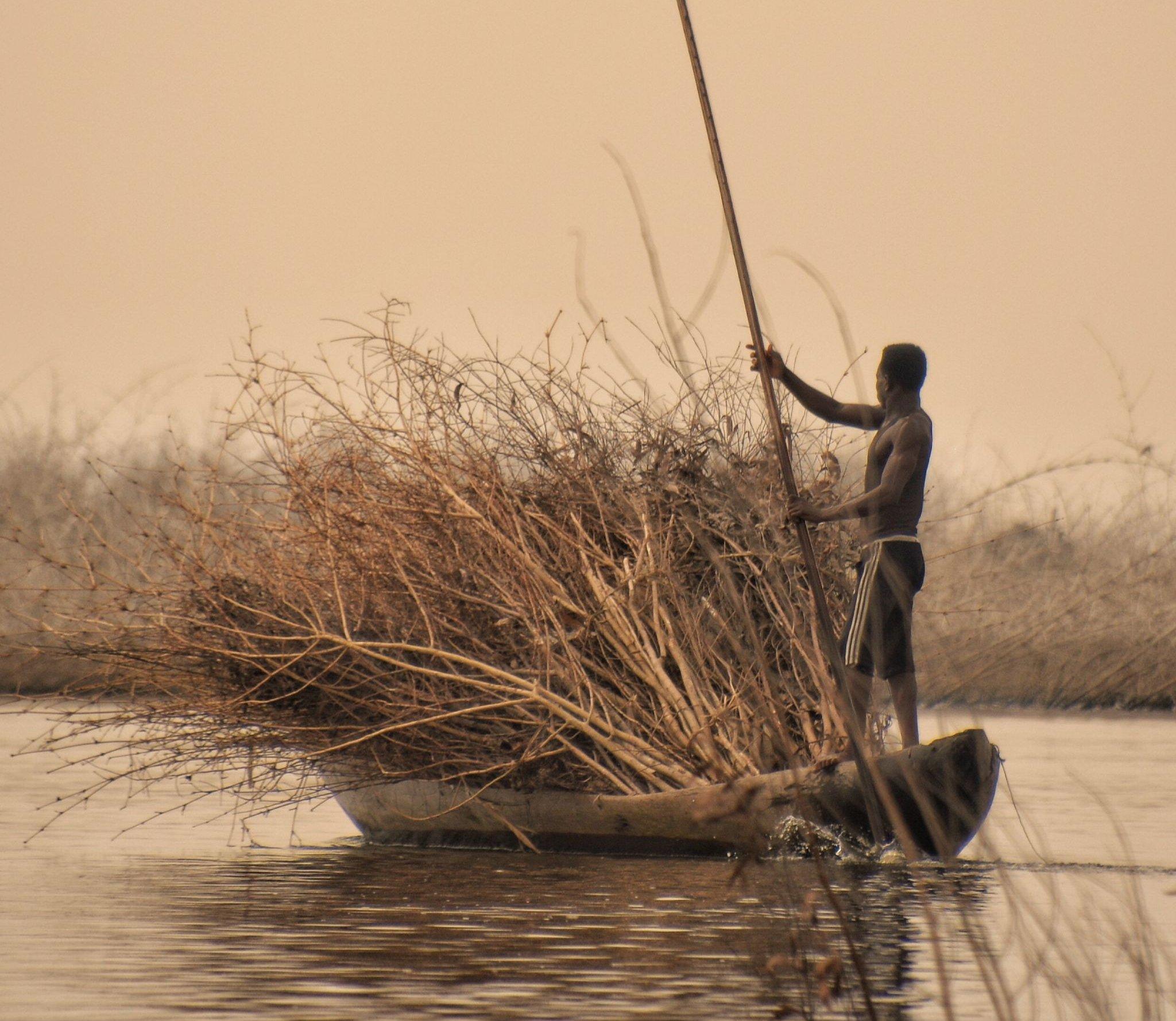 Ganvie Stilt Village, Lake Nokoue, Cotonou, Benin