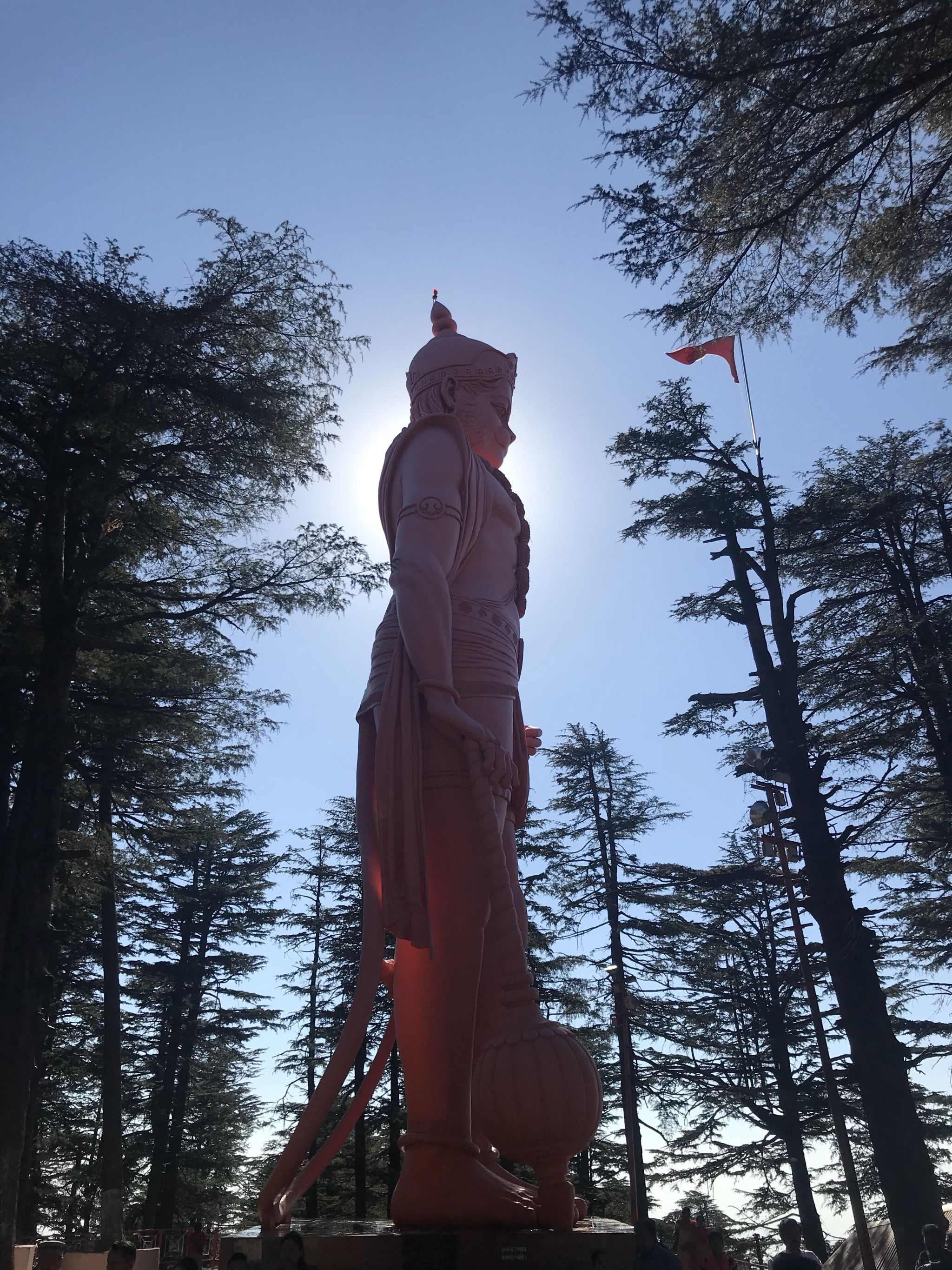 Lord Hanuman at Jakhoo Temple, Shimla