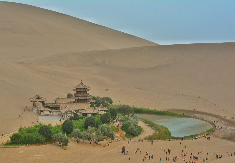 Crescent Lake, Dunhuang, China Silk Road