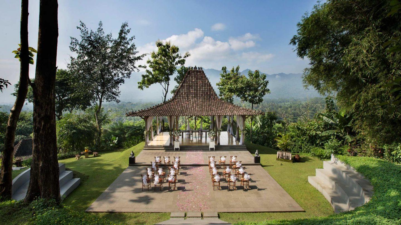 Overseas Wedding - jungle Indonesia