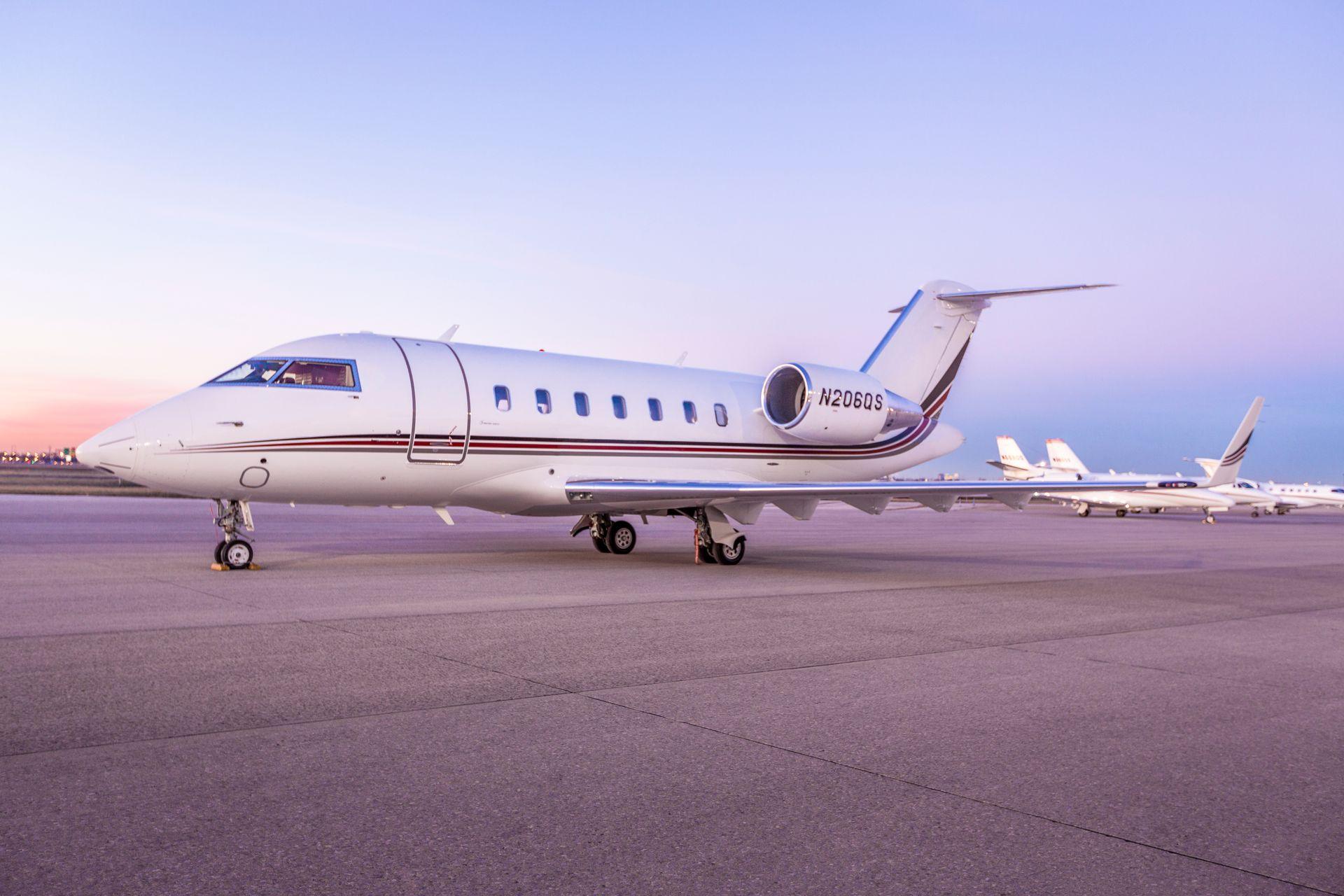 Net Jets Private Aircraft Hire - Bordeaux, La Vue France