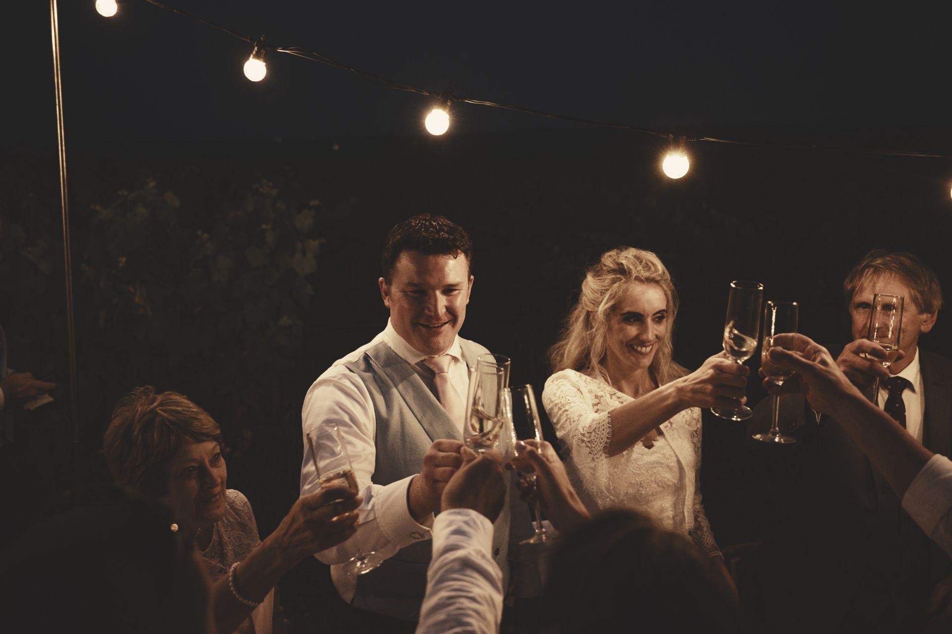 La Vue France - Wedding Breakfast - Night Falls - StuJarvis.com