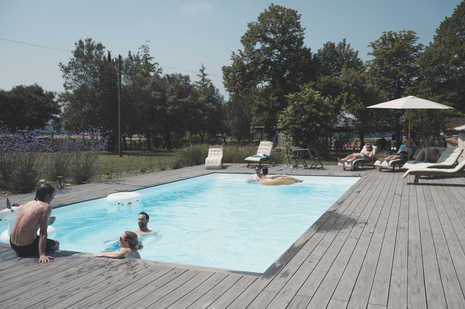 La Vue France Wedding - Swimming Pool - StuJarvis.com